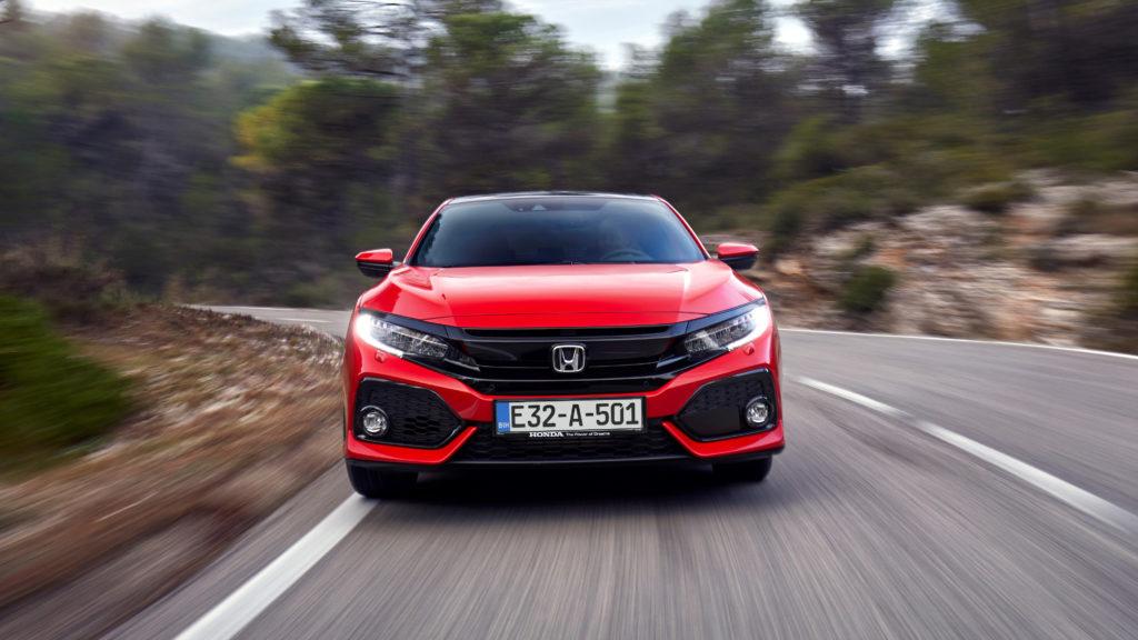 Honda Civic Eksterijer Dinamika
